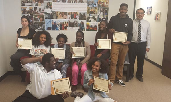 NFYI In The News-10 - April 2016 - Students Pose with Certificates After a Successful Shadow Day