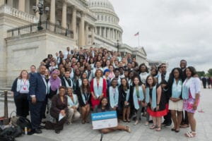 Shadow Day 2017: Rep. Karen Bass with Foster Youth Voices