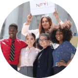 by developing professional and leadership opportunities and skills through online and in-person trainings, internships, events, campaigns, and meetings with decision makers.